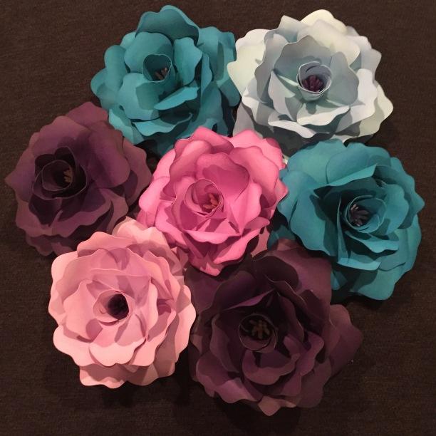 Dreaming Tree Cardstock Roses